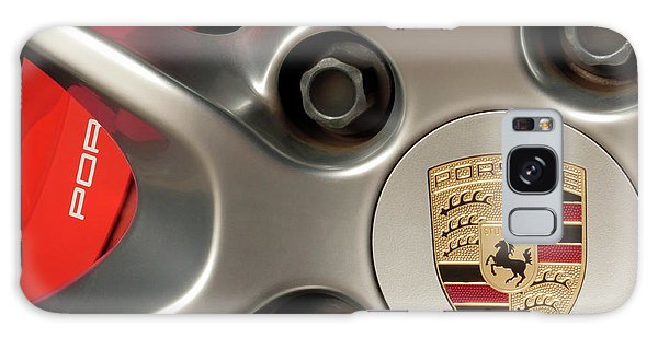 Porsche Wheel Detail #1 Galaxy Case