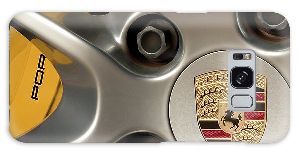 Porsche Wheel Detail #2 Galaxy Case