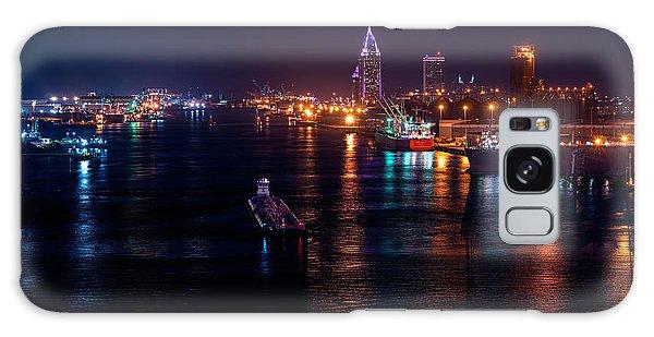 Port City Purple Galaxy Case