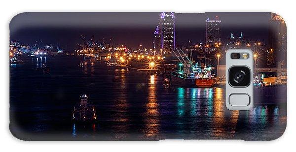 Port City Purple Closer Galaxy Case