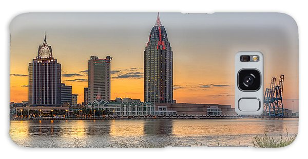 Port City Sunset 2 Galaxy Case