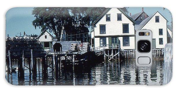 Port Clyde Maine Galaxy Case
