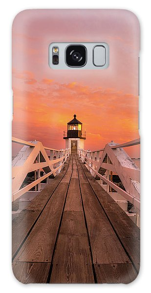 Galaxy Case featuring the photograph Port Clyde Maine - Marshall Point by Expressive Landscapes Fine Art Photography by Thom