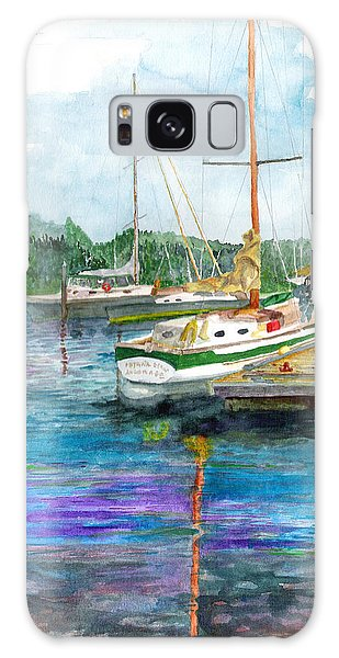 Port Mcneil Bc Galaxy Case by Eric Samuelson