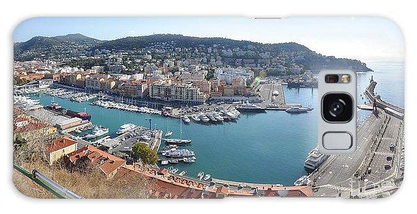 Port Nice Panorama Galaxy Case by Yhun Suarez