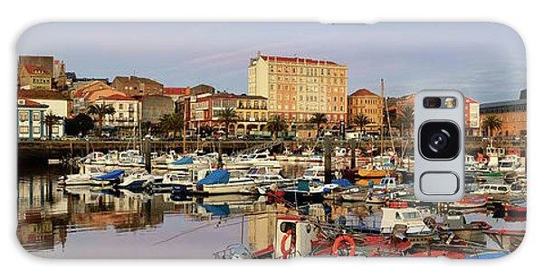 Port Of Ferrol Galicia Spain Galaxy Case