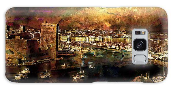 The Old Port Of Marseille Galaxy Case