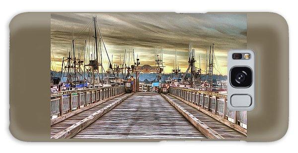 Port Of Newport - Dock 5 Galaxy Case