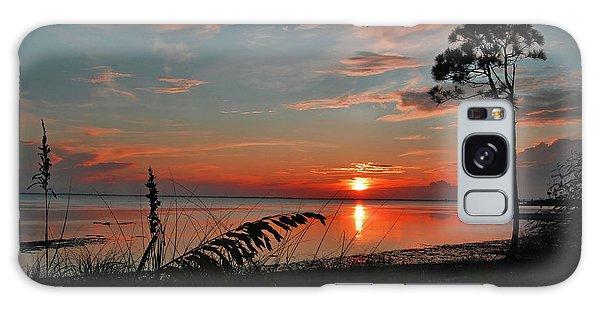 Port St Joe Sunset Galaxy Case