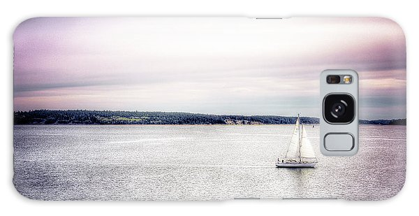 Port Townsend Sailboat Galaxy Case by Spencer McDonald