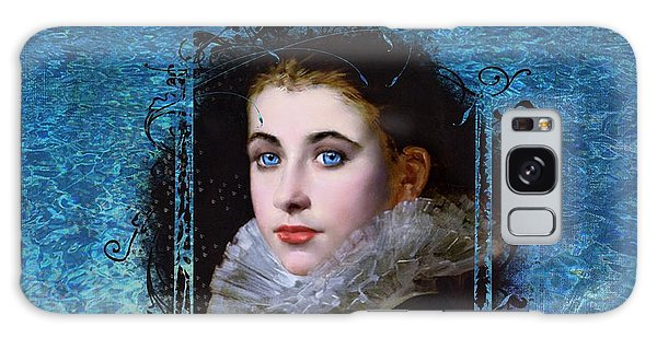 Portal Portrait Galaxy Case