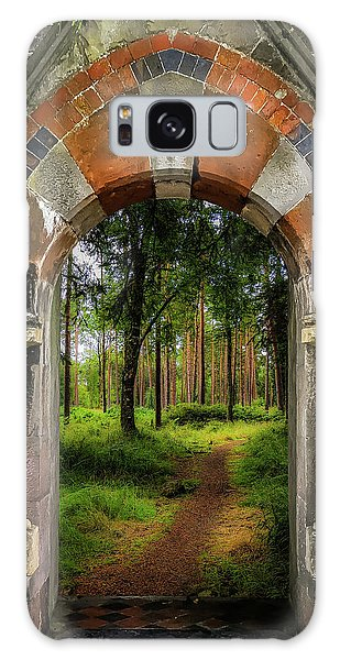 Galaxy Case featuring the photograph Portal To Portumna Forest by James Truett