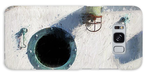 Portal To The Sea, Fine Art Print Galaxy Case by Greg Sigrist