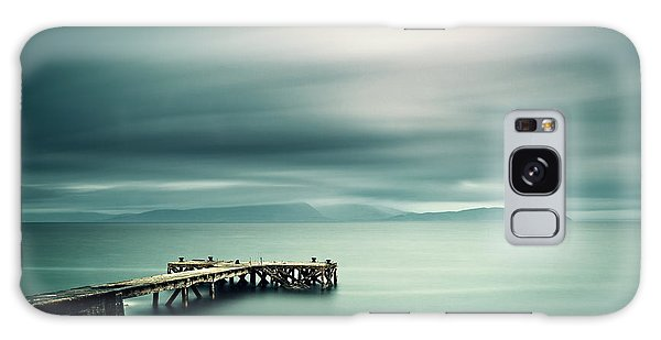 Portencross Pier Galaxy Case