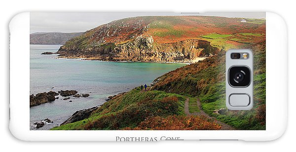 Galaxy Case featuring the digital art Portheras Cove by Julian Perry