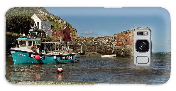 Porthgain In Wales Galaxy Case