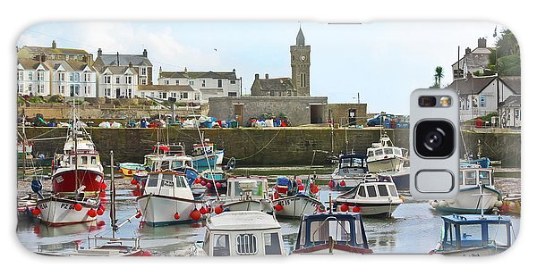 Porthleven Inner Harbour Galaxy Case
