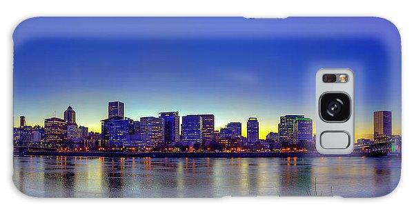 Portland Cityscape Galaxy Case