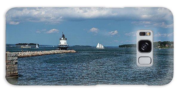 Portland Harbor, Maine Galaxy Case