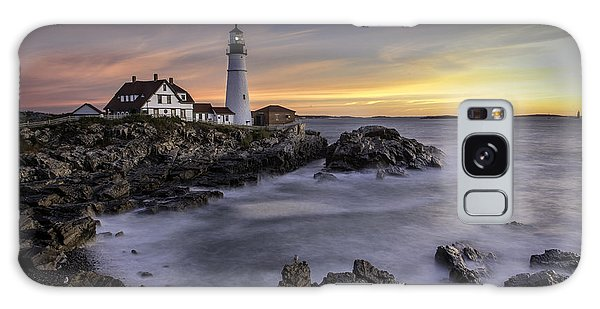 Portland Head Light Galaxy Case