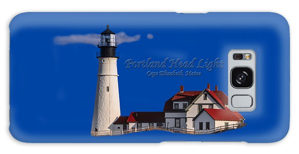 Portland Head Light No. 43 Galaxy Case