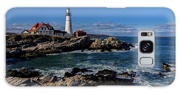 Portland Head Light No.32 Galaxy Case