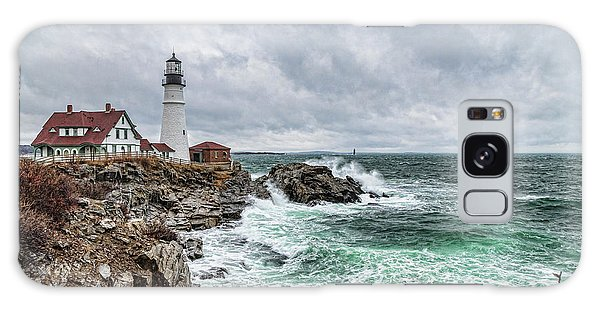 Portland Head Light Nor'easter Galaxy Case