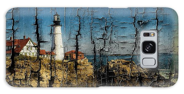 Portland Head Lighthouse 5 Galaxy Case
