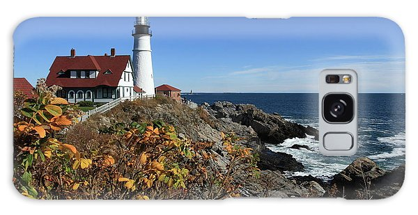 Portland Head Lighthouse In The Fall Galaxy Case