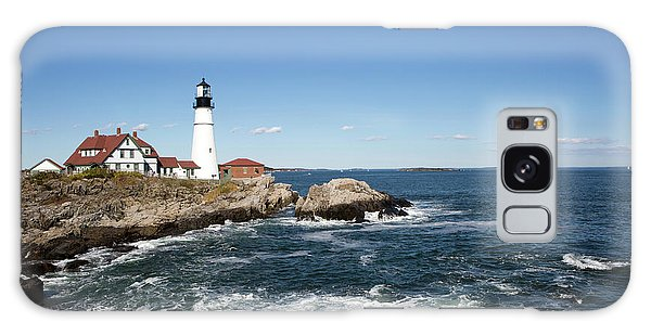Portland Head Lighthouse Maine Galaxy Case
