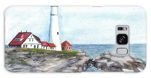 Portland Head Lighthouse Maine Usa Galaxy Case