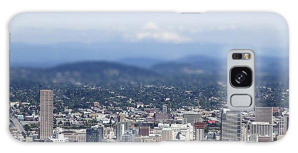 Portland In Perspective Galaxy Case