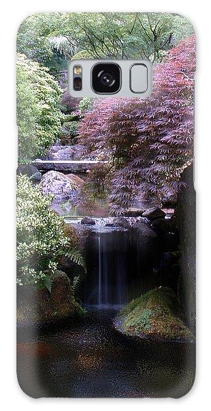 Portland Japanese Garden Galaxy Case