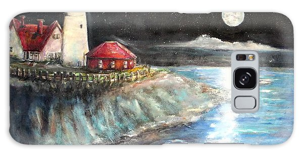 Portland Maine Twilight Galaxy Case by Bernadette Krupa