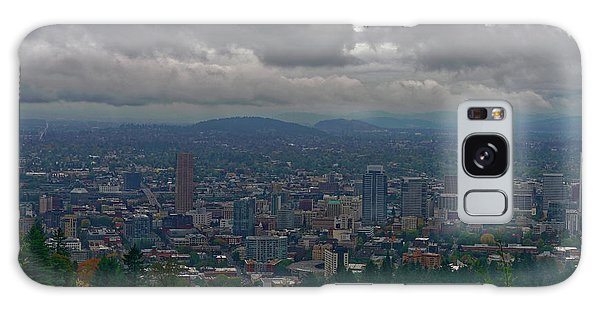 Portland Overlook Galaxy Case by Jonathan Davison