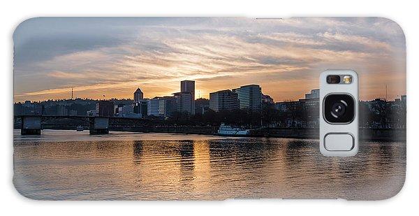 Portland Sunset Galaxy Case