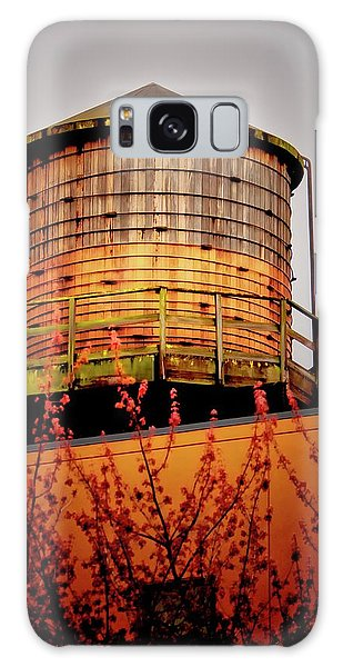 Portland Water Tower IIi Galaxy Case by Albert Seger
