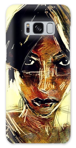 Portrait 08oct2015 Galaxy Case by Jim Vance