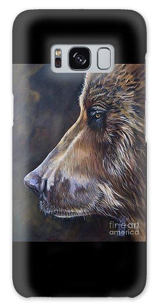 Portrait Of A Bear Galaxy Case