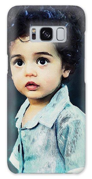 Portrait Of A Child Galaxy Case