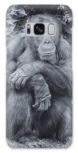 Portrait Of A Chimp Galaxy Case