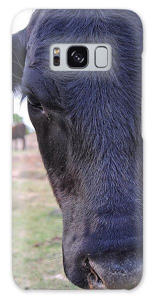 Portrait Of A Cow Galaxy Case