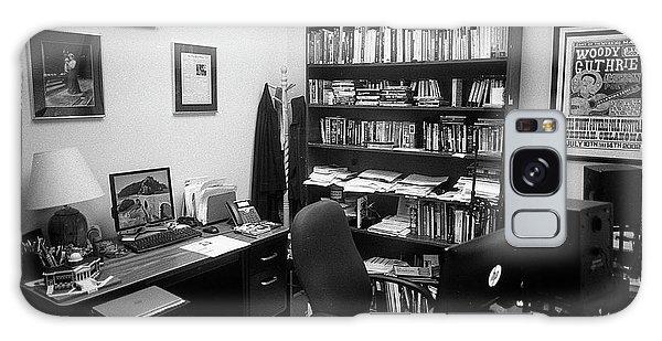Portrait Of A Film/tv Professor's Office Galaxy Case