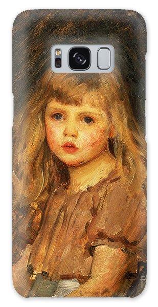 Girl Galaxy Case - Portrait Of A Girl by John William Waterhouse