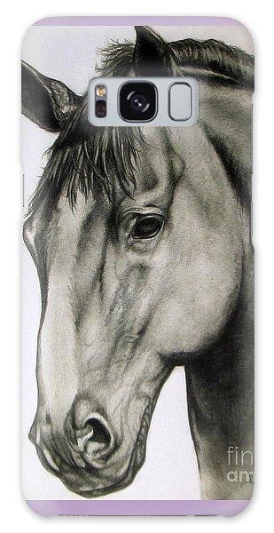 Portrait Of A Horse Galaxy Case