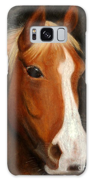 Portrait Of A Horse Galaxy Case