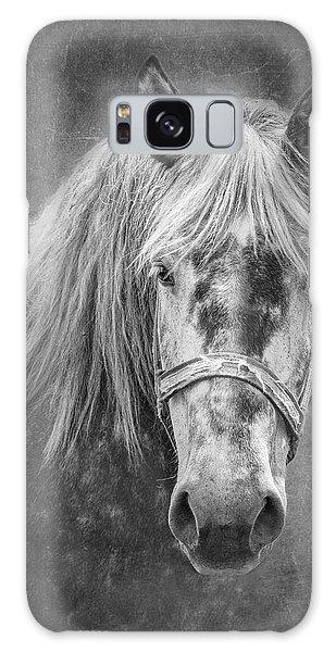 Equine Galaxy Case - Portrait Of A Horse by Tom Mc Nemar