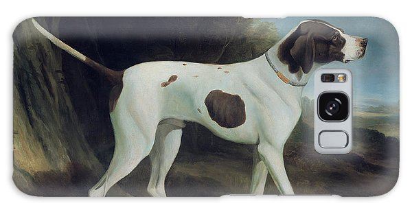 Portrait Of A Liver And White Pointer Galaxy Case