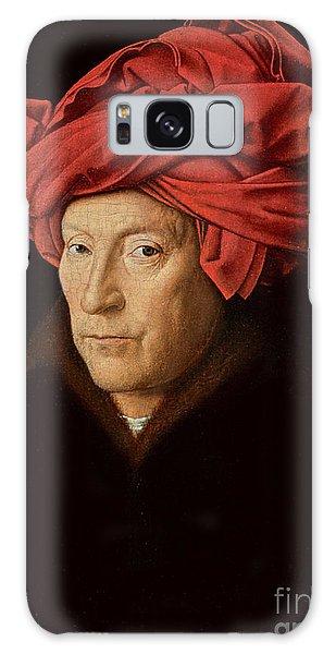 Jan Galaxy Case - Portrait Of A Man by Jan Van Eyck