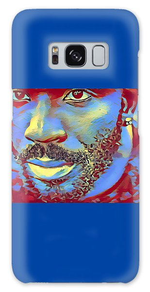 Portrait Of A Man Of Color Galaxy Case